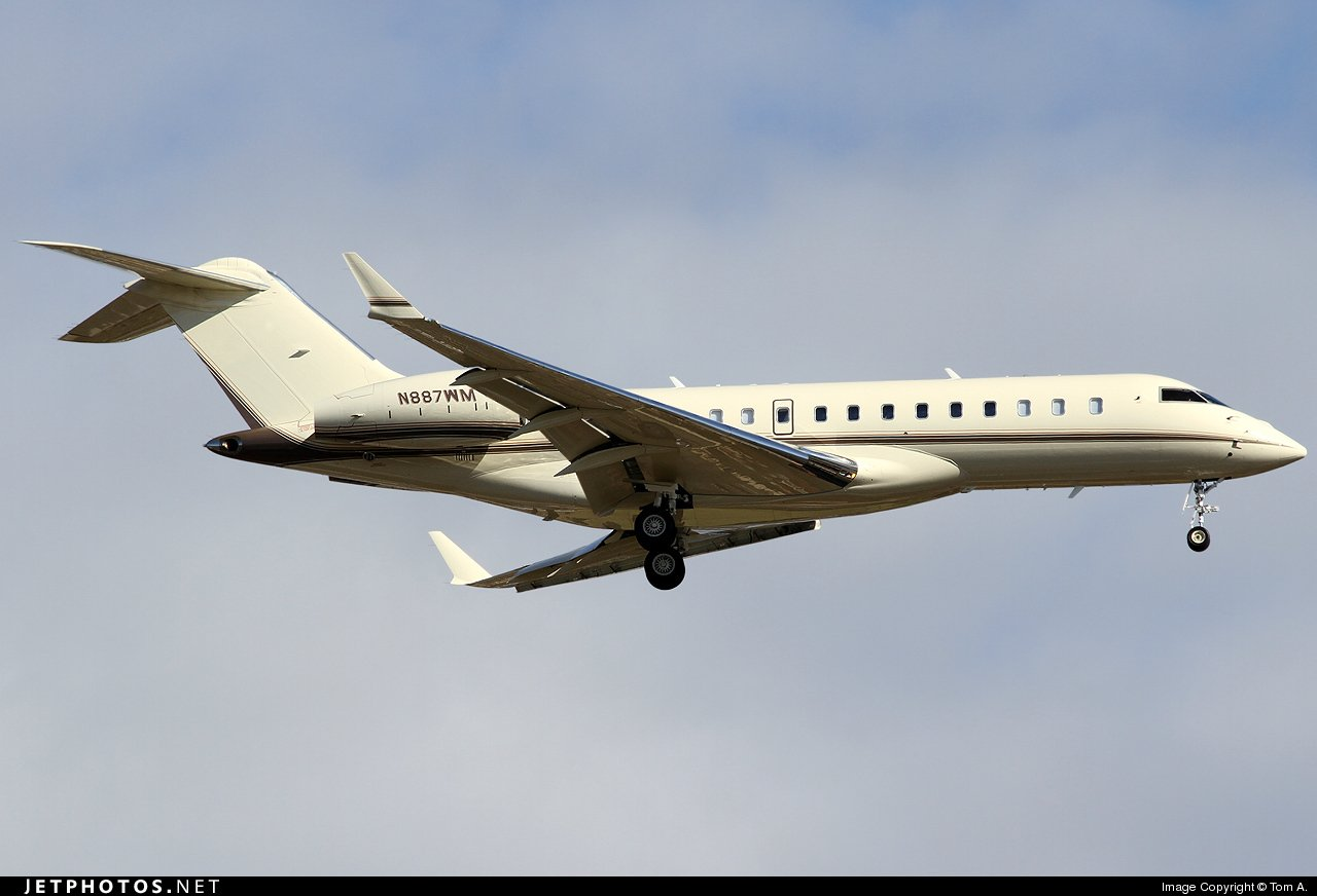 Bill Gates Private Jet