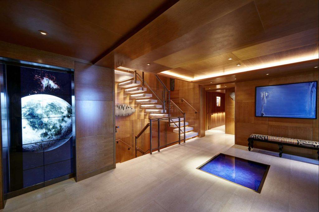 Feadship yacht Symphony interior