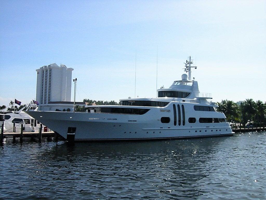 Gallant Lady yacht - Feadship - 2007 - Jim Moran