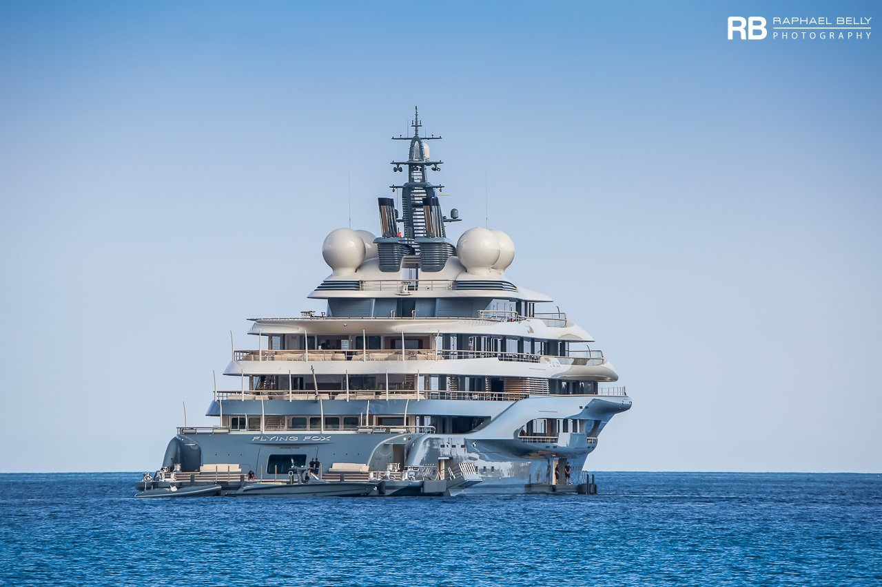 yacht Flying Fox – 136m – Lurssen - Jeff Bezos