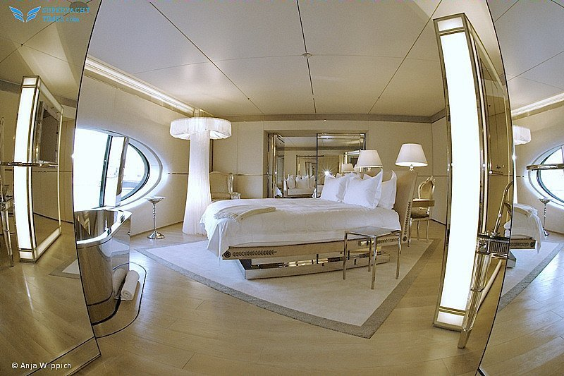 Sailing Yacht A interior