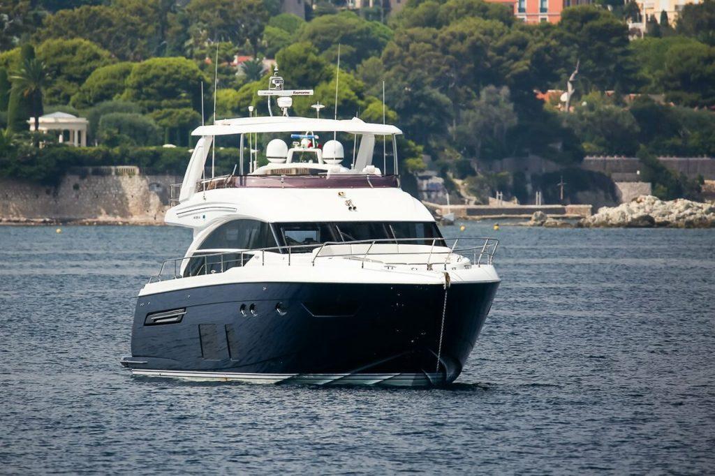 Tender To Ulysses yacht (Princess 68) – 21,25m – Princess
