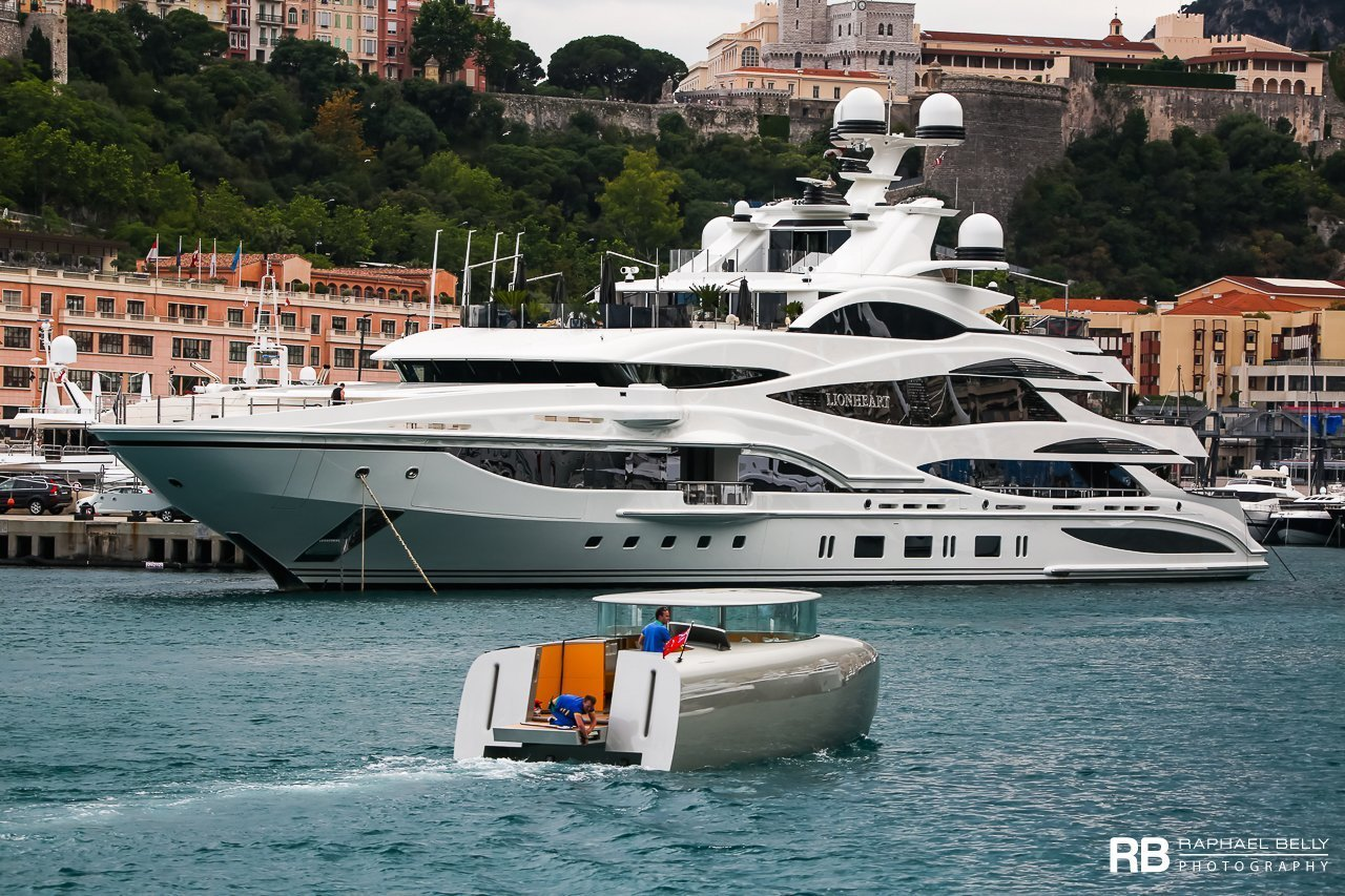 Tender n°3 to the world's largest sail-assisted motor yacht, SY A.