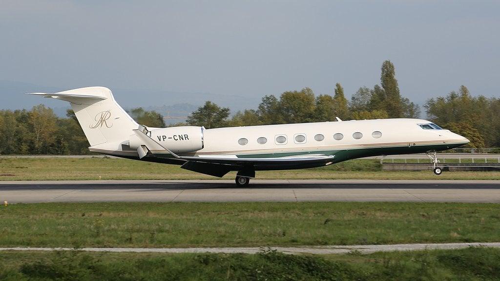 VP-CNR Gulfstream G650 Al Rasheed