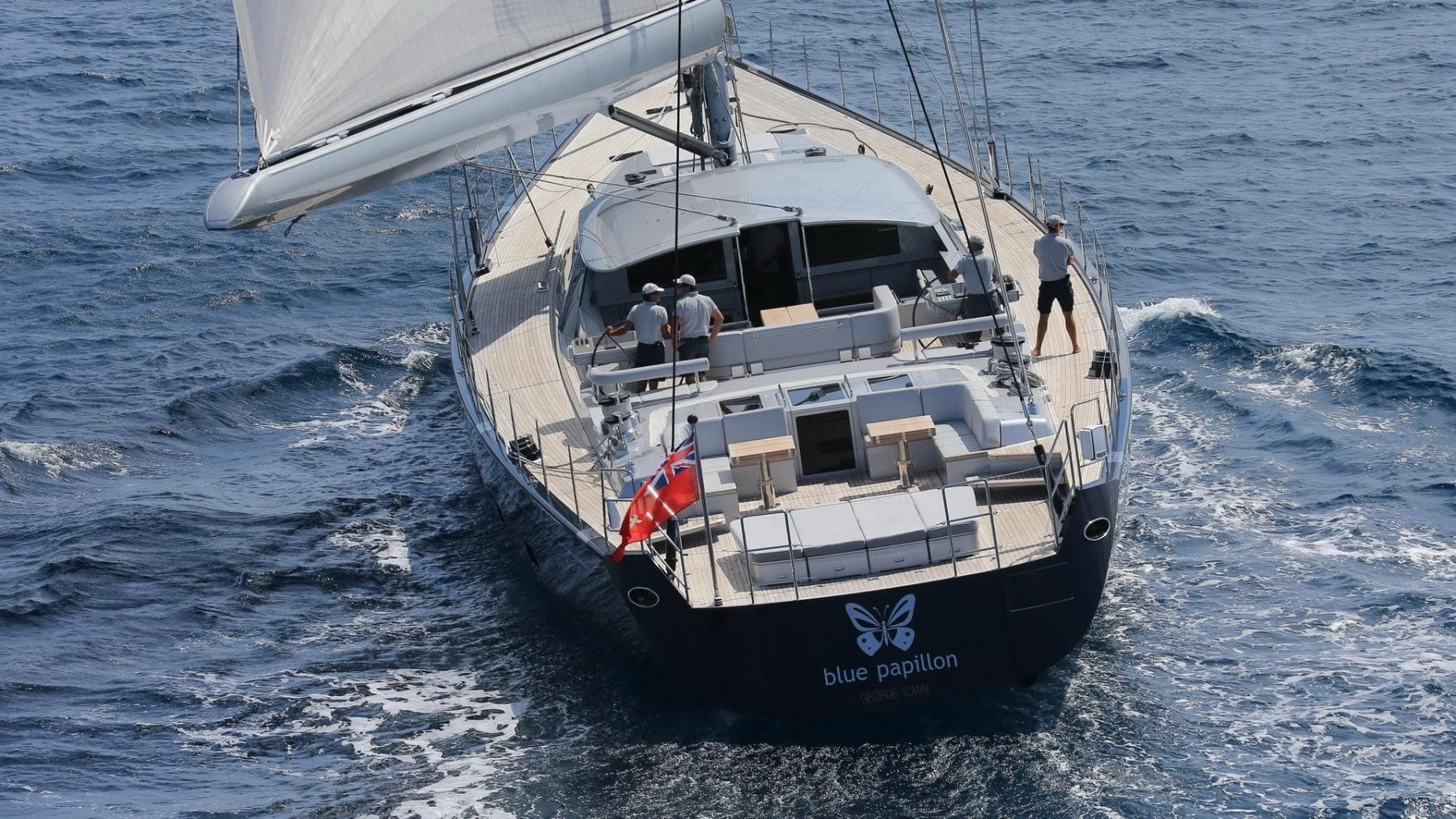 Blue Papillon yacht