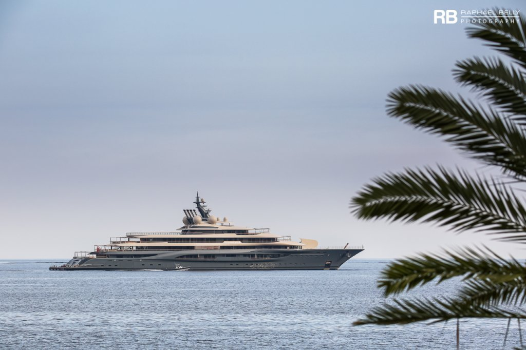 Flying Fox yacht - 136m - Lurssen