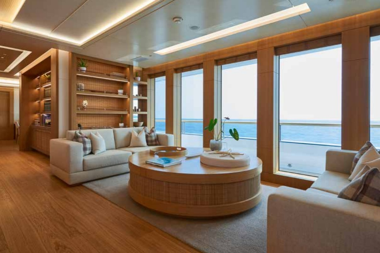 Flying Fox yacht interior