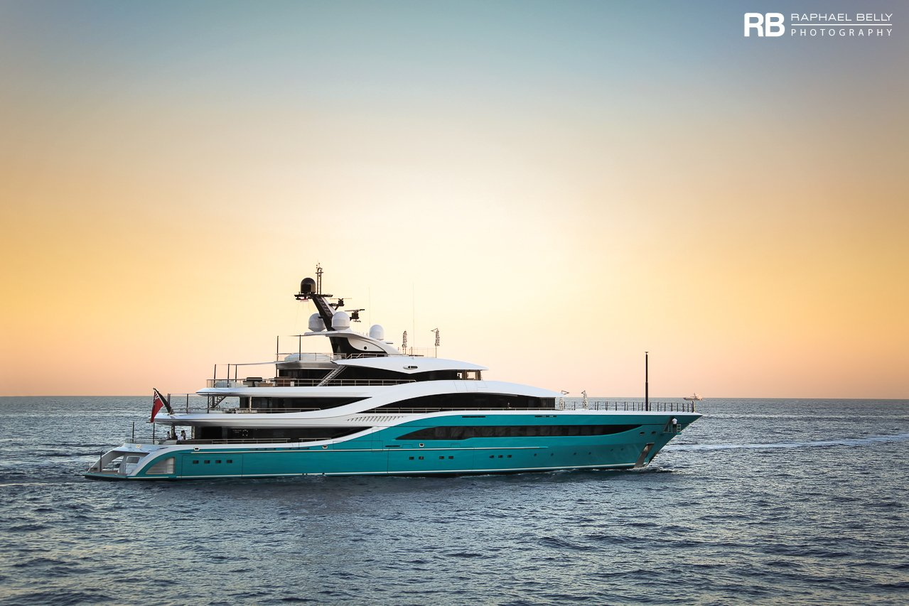 yacht GO – 77m – Turquoise