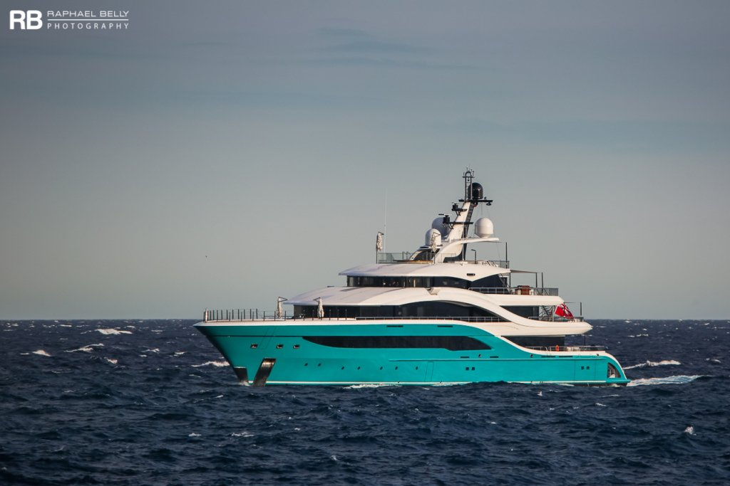 yacht GO – 77m – Turquoise - Hans Peter Wild
