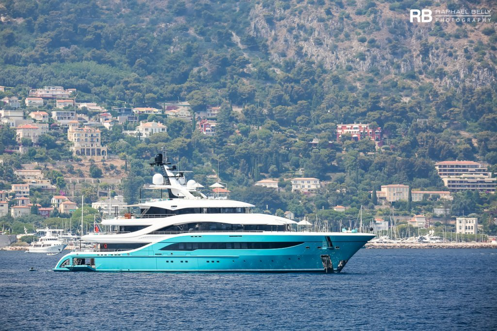 GO yacht – 77m – Turquoise
