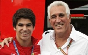 Lawrence and Lance Stroll
