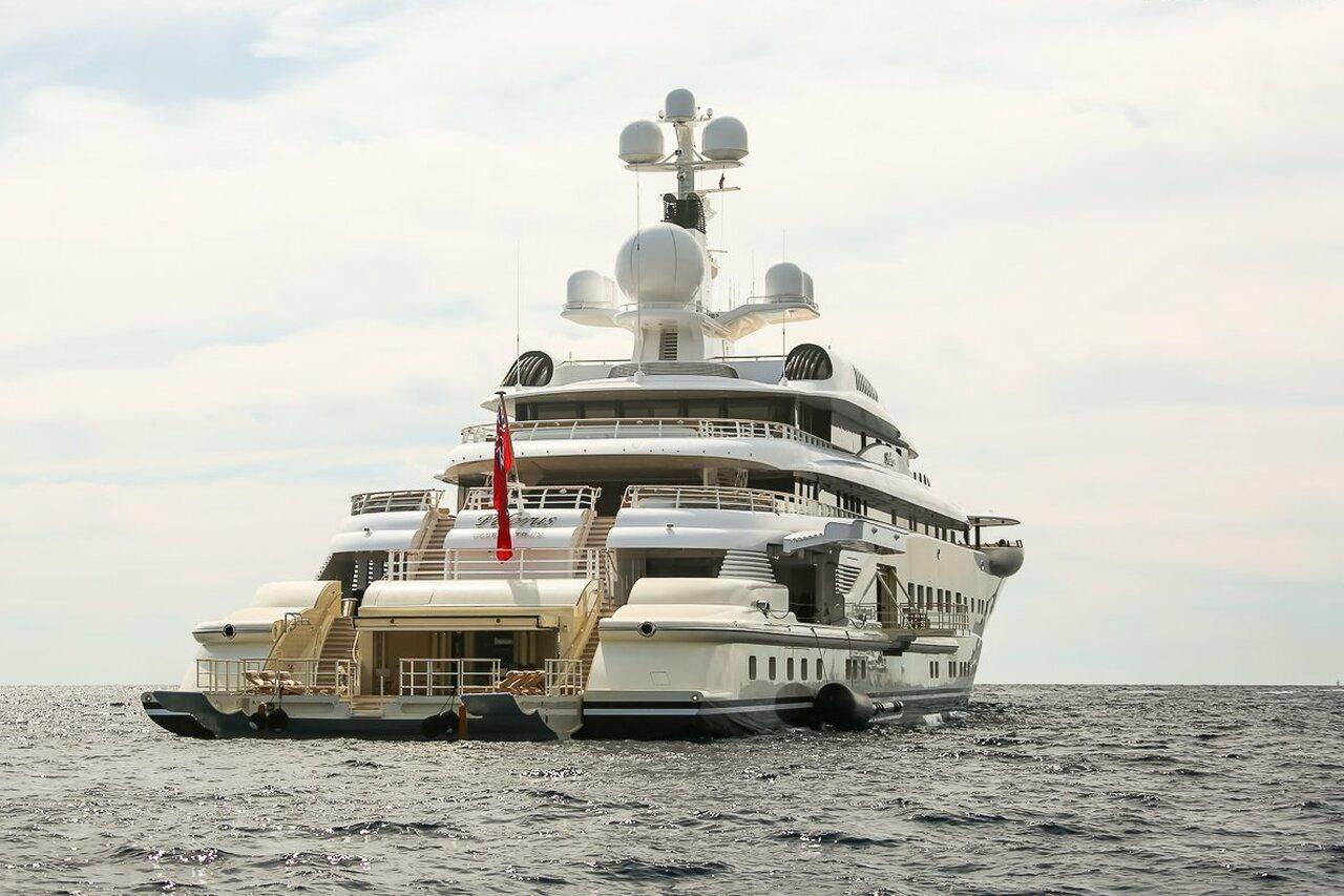 yacht Pelorus - 115m - Lurssen