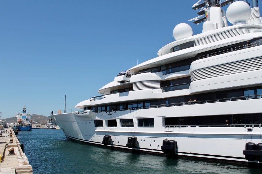 Schehezarade yacht
