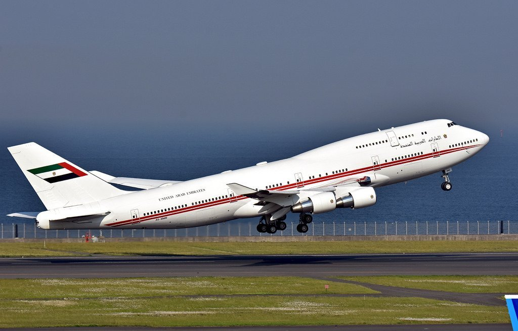 A6-MMM Dubai Royal flight B747 BBJ
