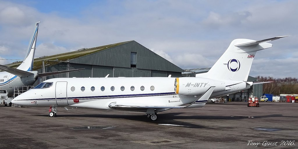 M-INTY G280 Jim Ratcliffe private jet