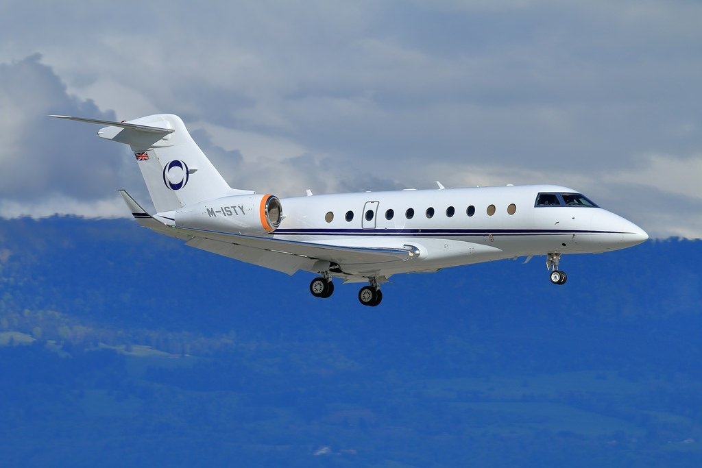 M-ISTY G280 Jim Ratcliffe private jet
