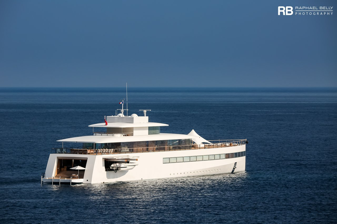 The yacht Venus was built by Feadship in 2012. The yacht is owned by Apple founder Steve Jobs' widow Laurene.