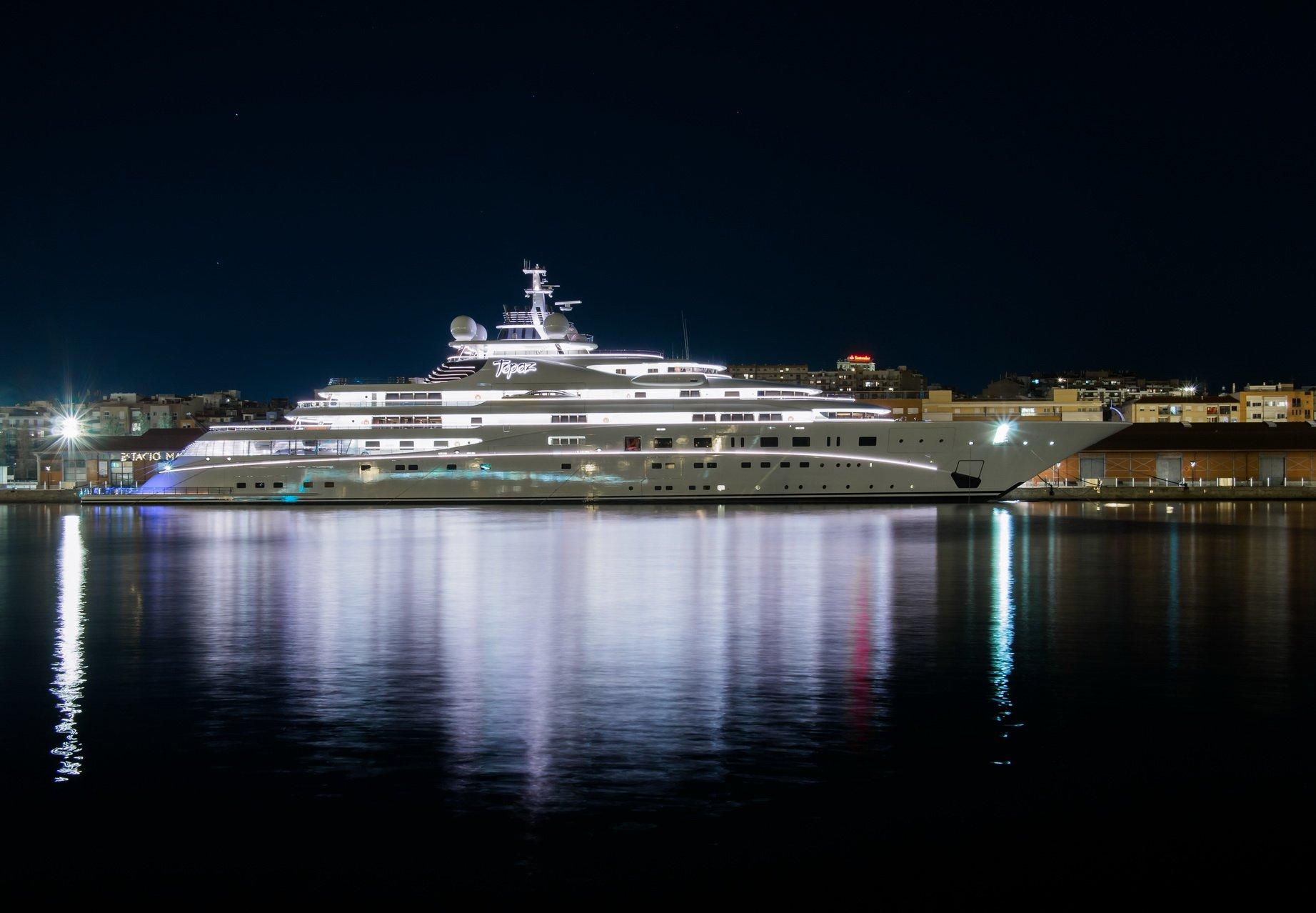 A+ yacht Topaz – 147m – Lurssen - Mansour al Nayhan