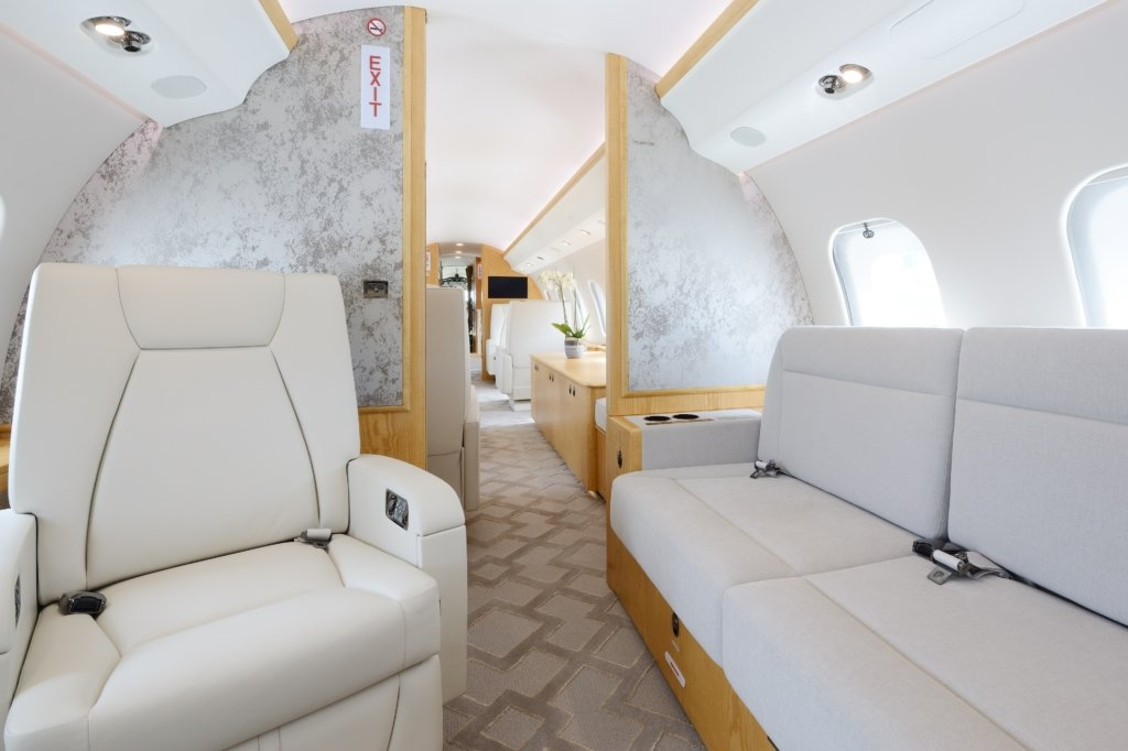 9H-LDN Global 6000 Lukas Lundin jet