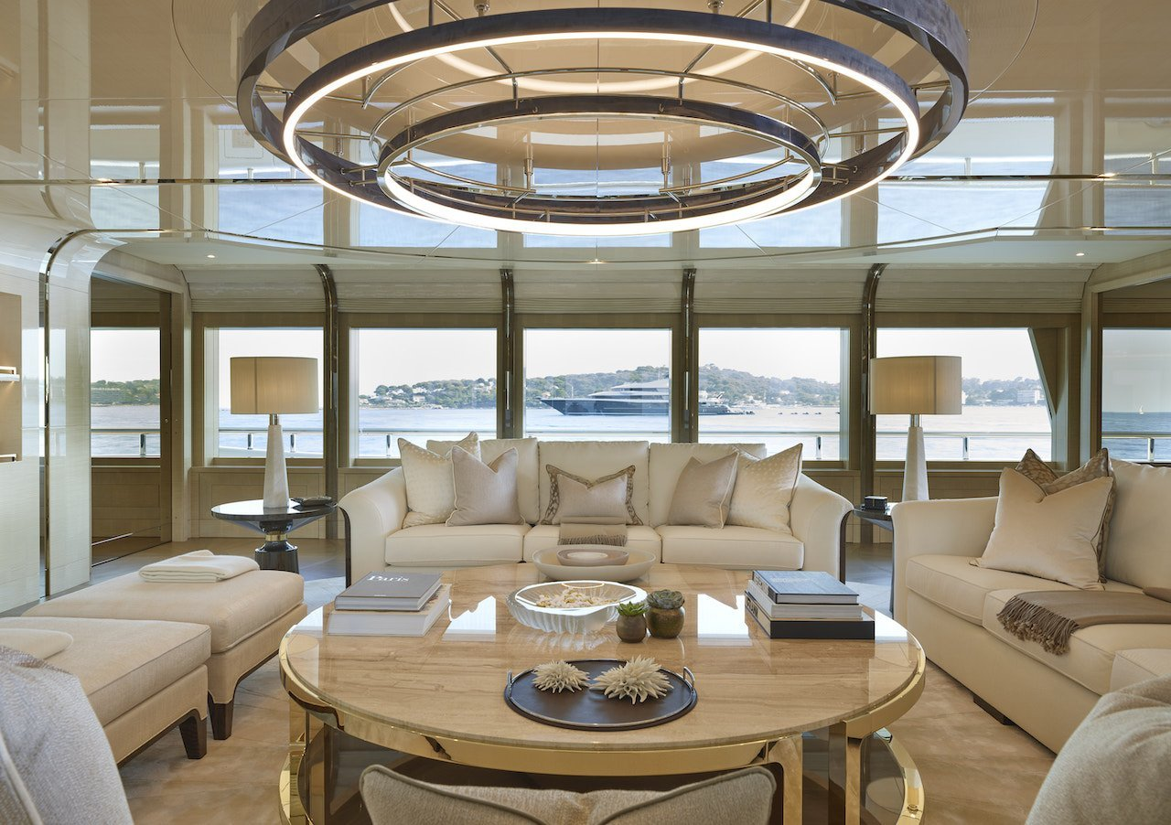 Andrew Winch Design yacht interior