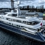 The 68m yacht Archimedes was built by Feadship in 2008. Her owner is James Simons