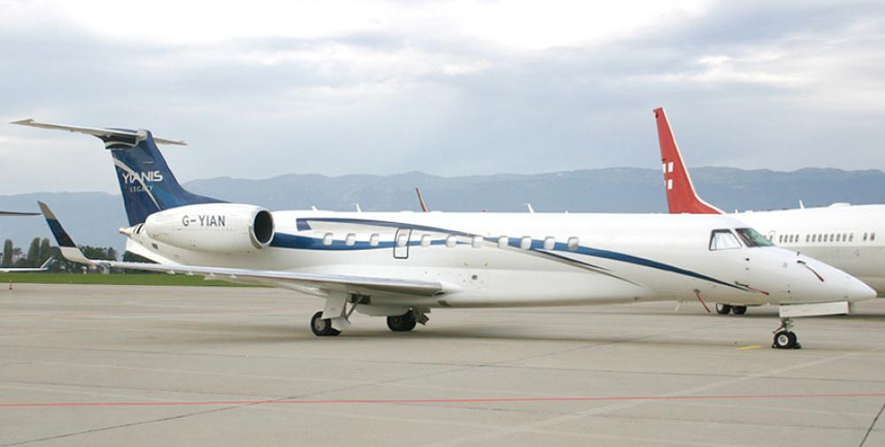 G-YIAN Embraer John Christodoulou private jet