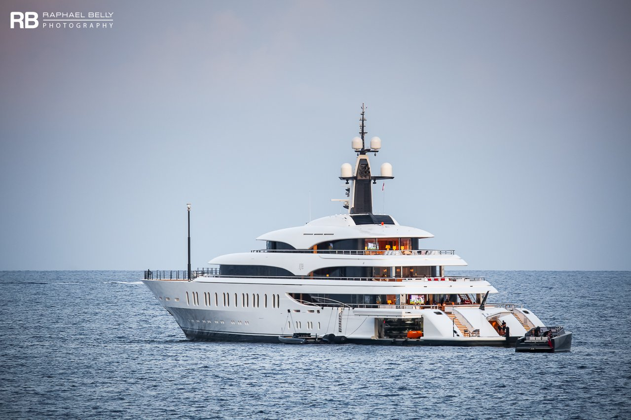IJE yacht - 108m - Benetti - James Packer