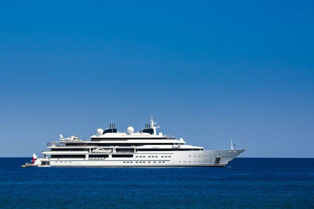 Katara yacht – 124m – Lurssen