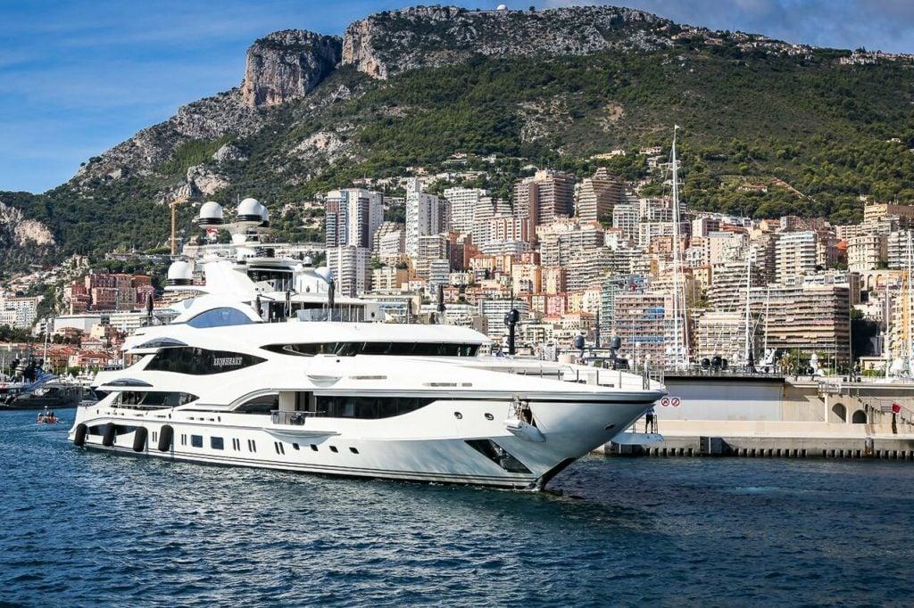 yacht Lionheart - 90m - Benetti
