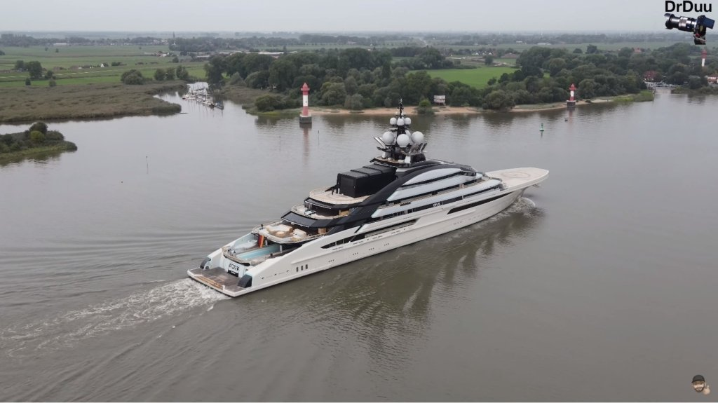 Nord yacht - 142m - 465ft