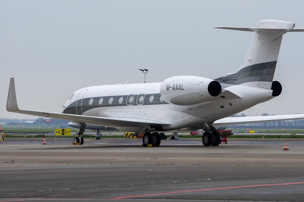 M-AAAL G650 Alexander Machkevitch private jet