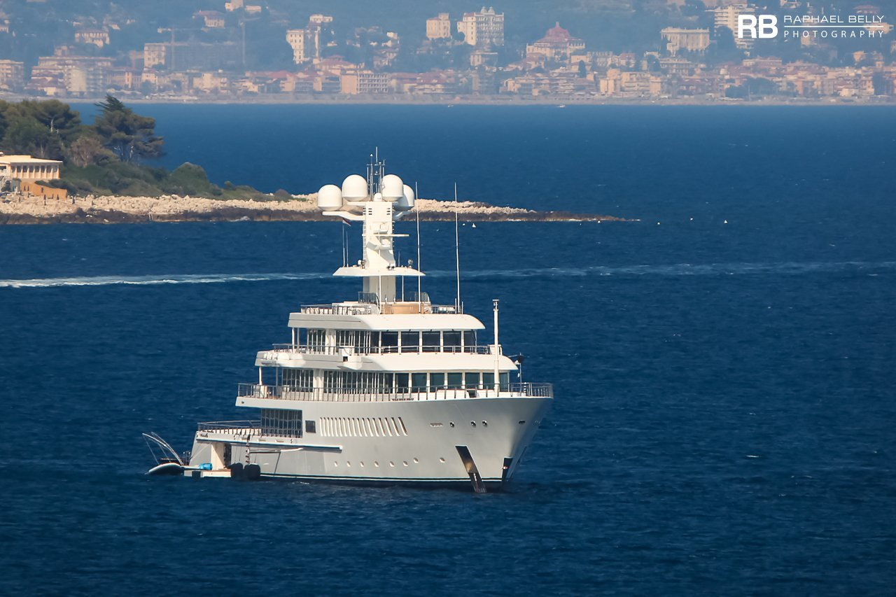 yacht Fountainhead - 88m - Feadship