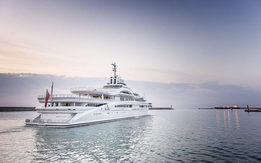 Maryah yacht - 2015 - owner Sheikh Tahnoon bin Zayed