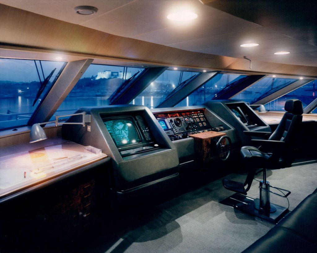 Mylin IV yacht interior