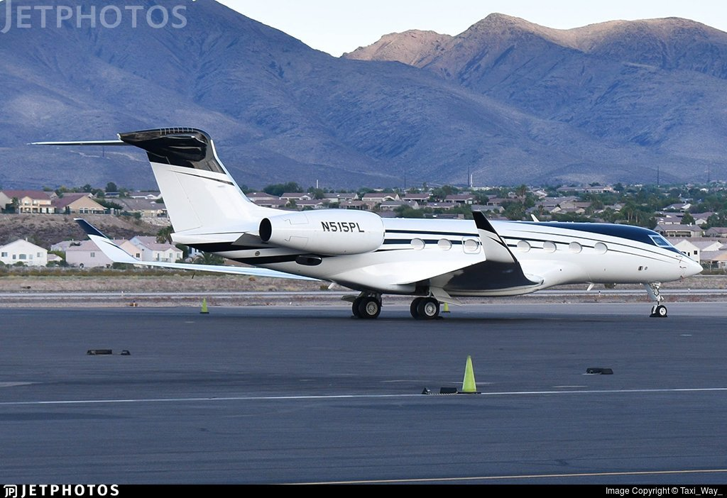 N515PL G650 Nancy Walton Laurie private jet