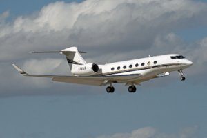 N761LE G650 Blavatnik private jet