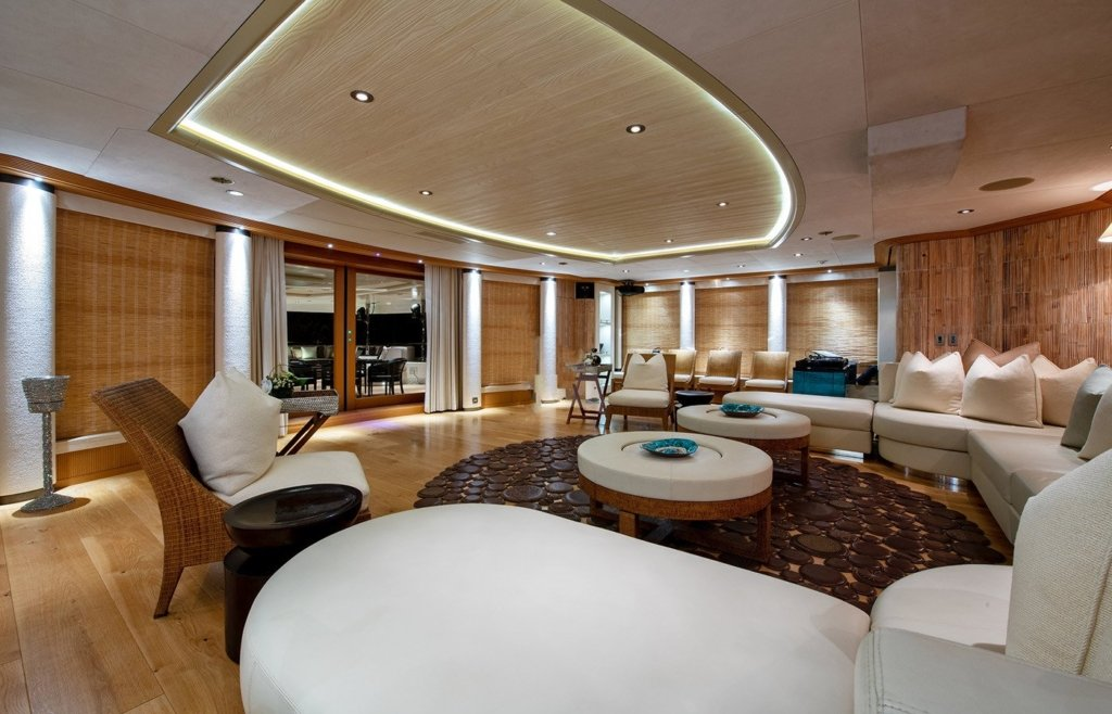 Terrence Disdale interior yacht design