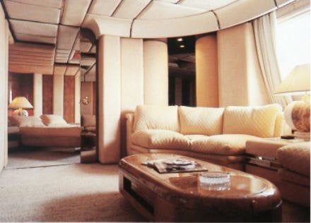 Trump Princess yacht interior