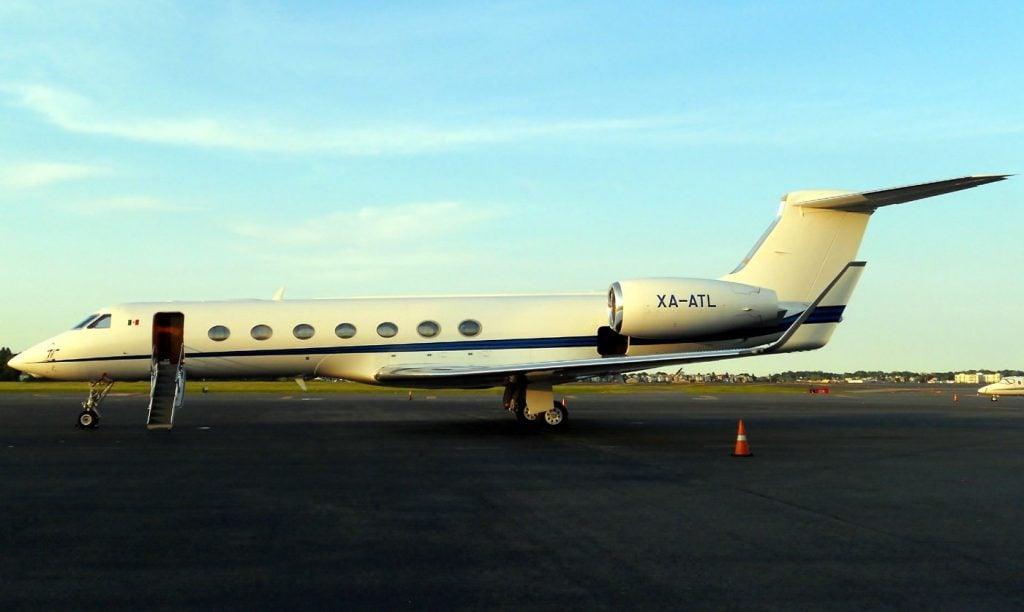 XA-ATL G550 Carlos Slim private jet