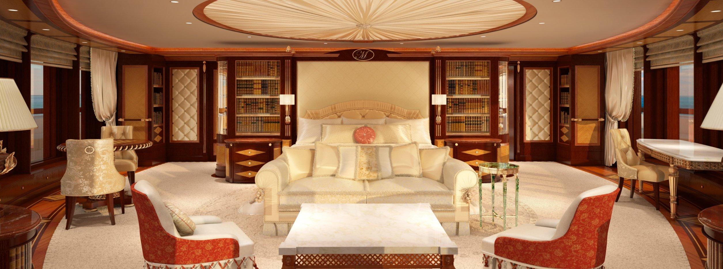Zuretti Design yacht interior