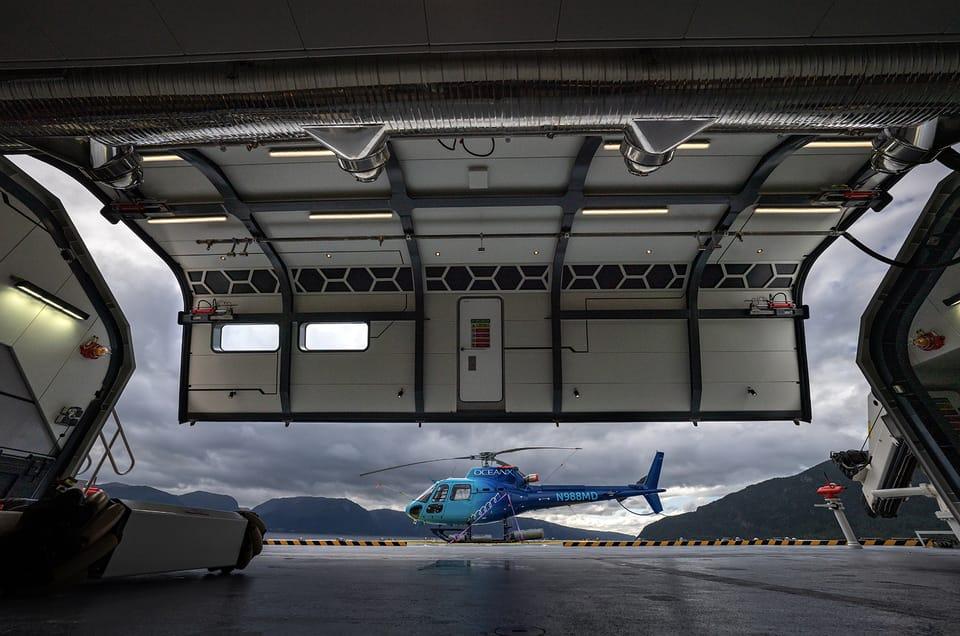 OceanXPlorer helicopter