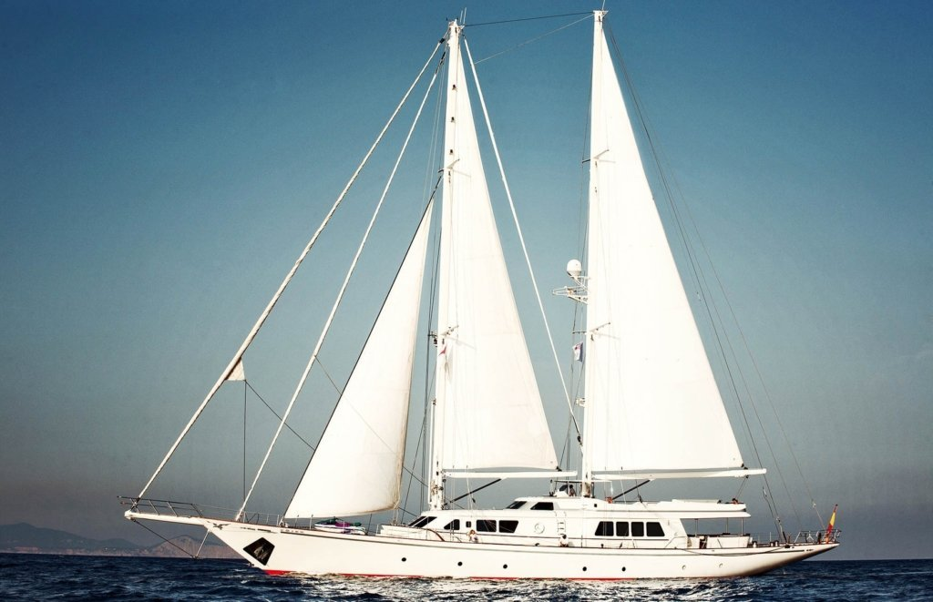 sailing yacht Aiglon