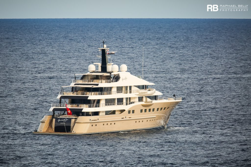 yacht Here Comes The Sun – 83m – Amels