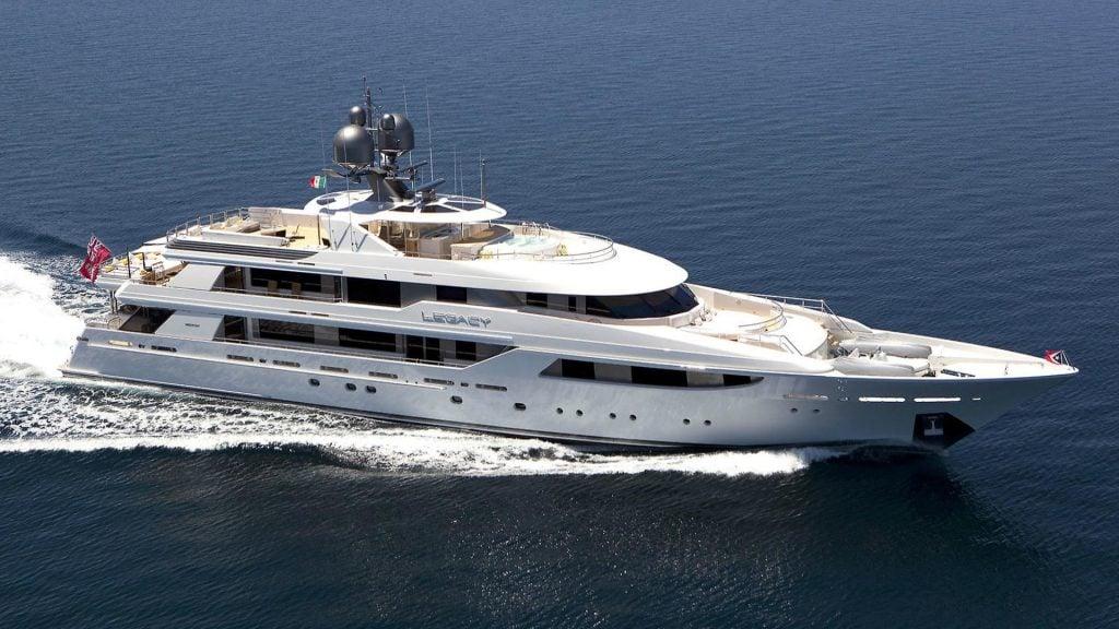 Legacy yacht - Westport - 2012