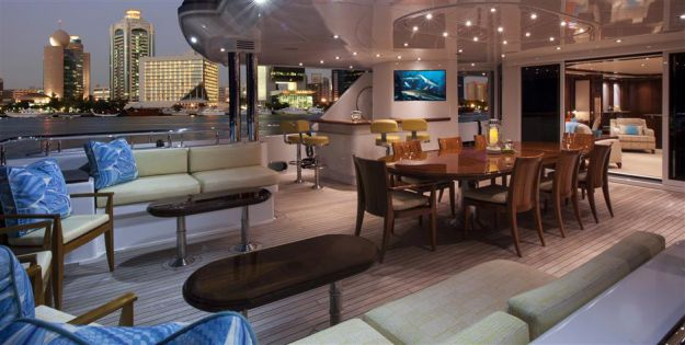 yacht Legacy interior