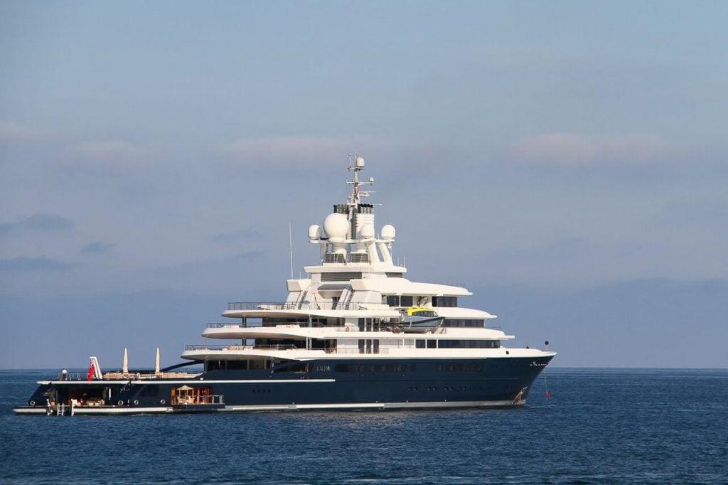 yacht Luna - 115m - Lloyd Werft