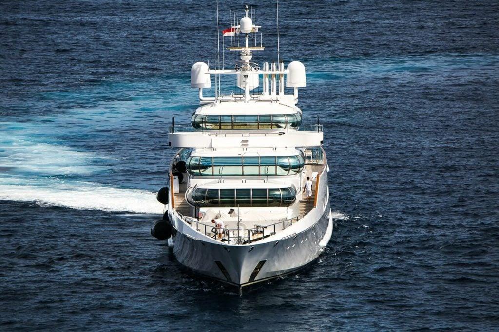 Zeus yacht – 74m – Blohm + Voss