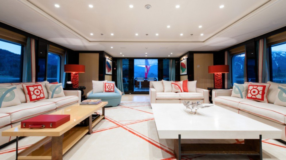 yacht Event interior
