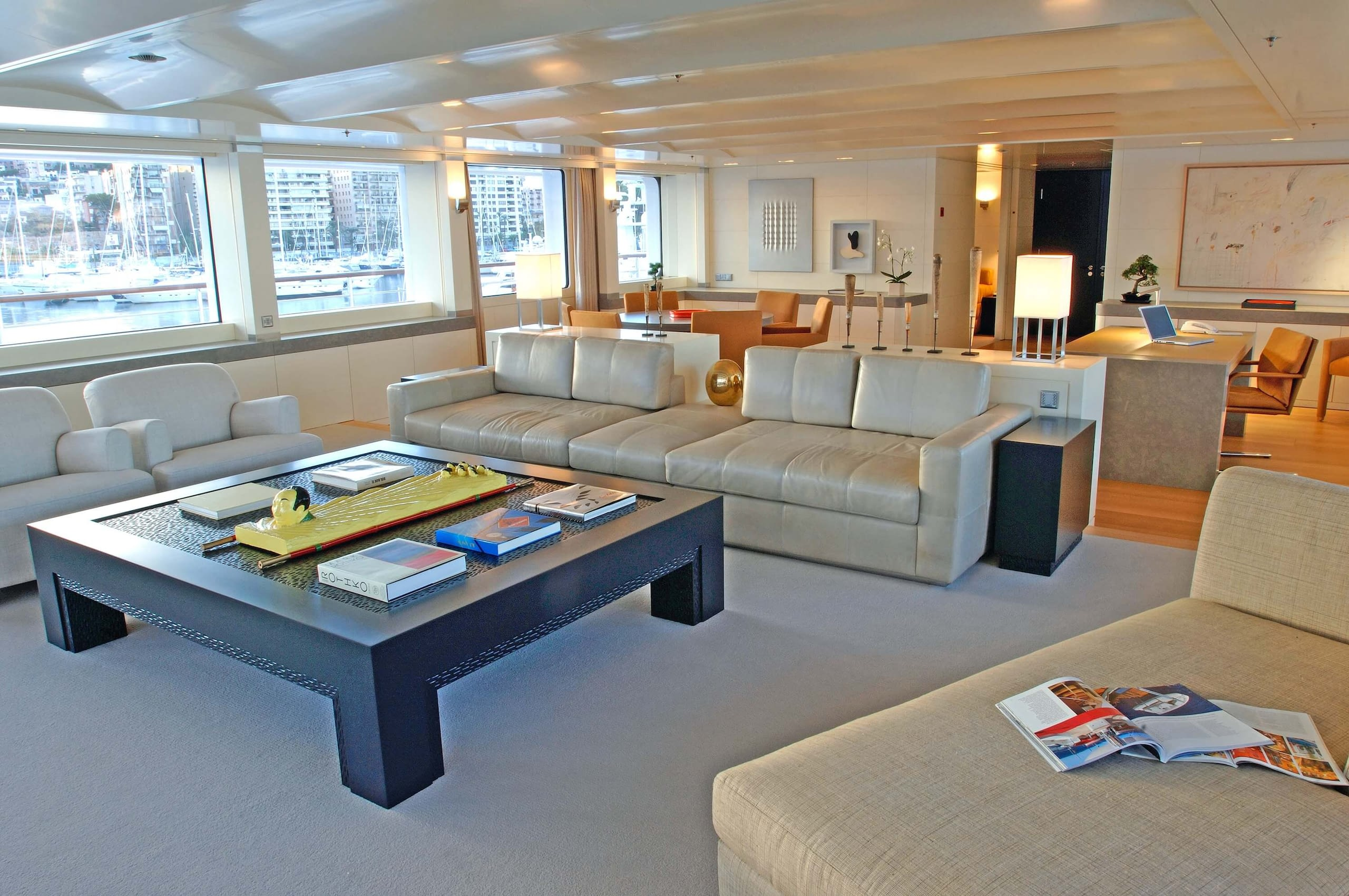 yacht ICE interior