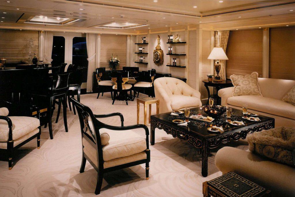 yacht Ostar interior